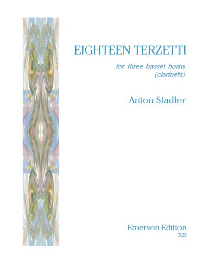 EIGHTEEN TERZETTI (score & parts)