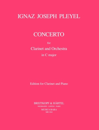 CLARINET CONCERTO in C major