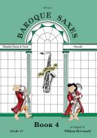 BAROQUE SAXES Book 4: Purcell (score & parts)