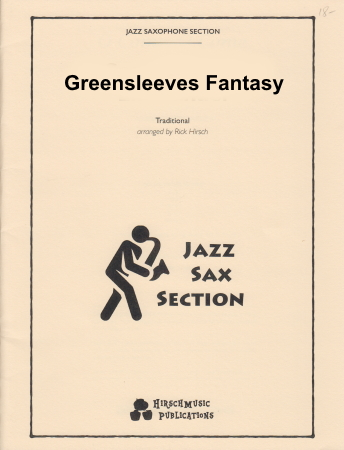 GREENSLEEVES FANTASY (score & parts)