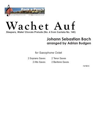 WACHET AUF score & parts
