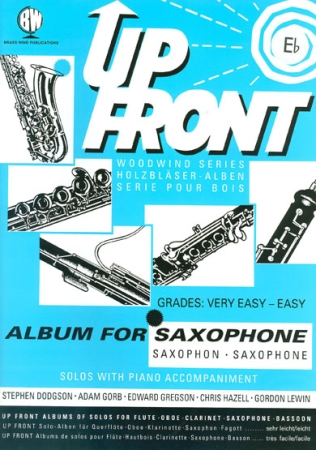UP FRONT ALBUM for Eb Saxophone