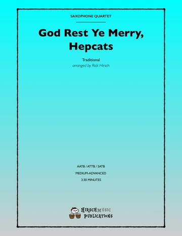 GOD REST YE MERRY, HEPCATS (score & parts)