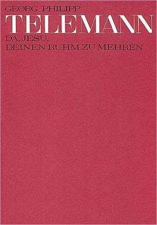 DA, JESU, DEINEN RUHM ZU MEHREN, TVWV 1:531a (score)