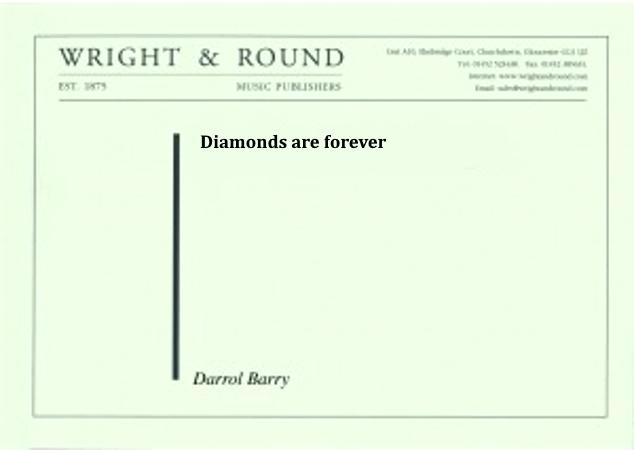 DIAMONDS ARE FOREVER (score)
