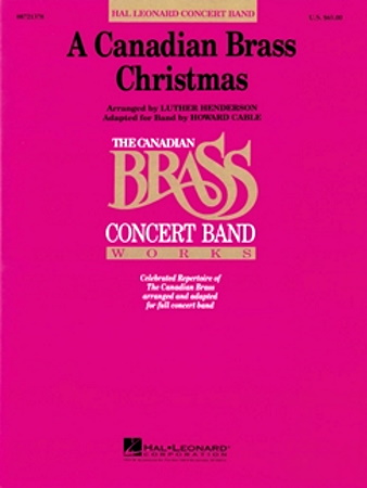 A CANADIAN BRASS CHRISTMAS (score)