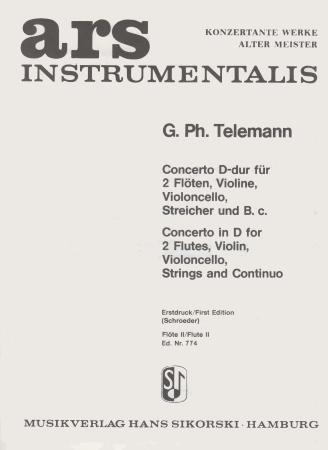 CONCERTO in D solo flute 2