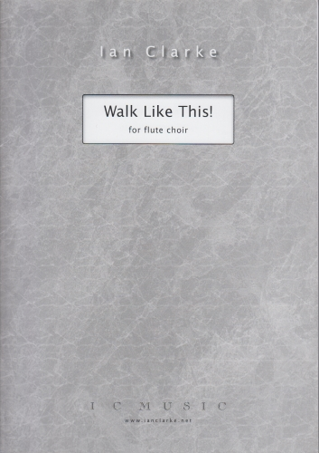 WALK LIKE THIS! (score & parts)