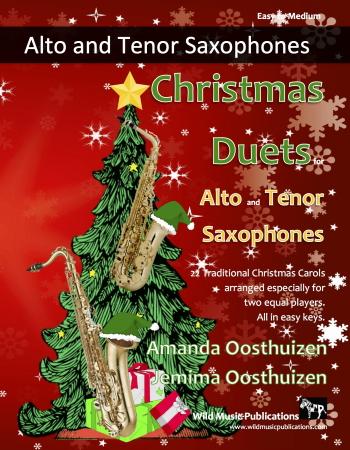 CHRISTMAS DUETS for Alto & Tenor Saxophones