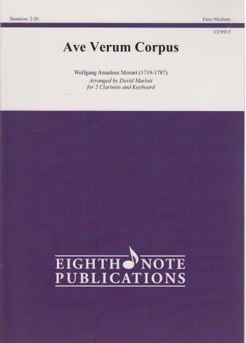 AVE VERUM CORPUS (score & parts)
