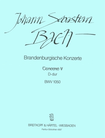 BRANDENBURG CONCERTO No.5 Score