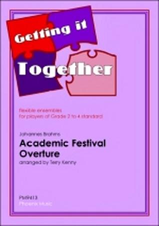 ACADEMIC FESTIVAL OVERTURE (score & parts)