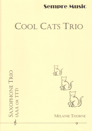COOL CATS TRIO (score & parts)