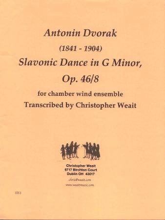 SLAVONIC DANCE in G minor Op.46 No.8 (score & parts)