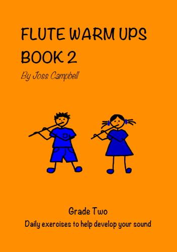 FLUTE WARM UPS Book 2