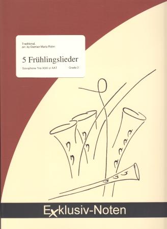 5 FRUHLINGSLIEDER score & parts