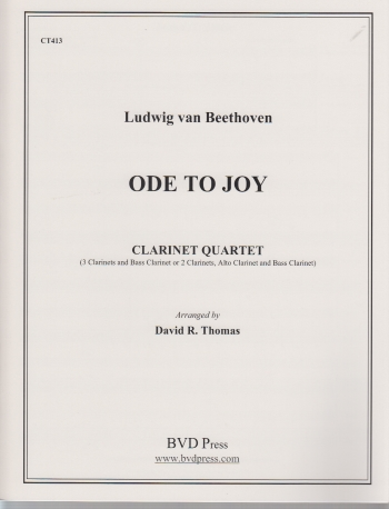 ODE TO JOY score & parts