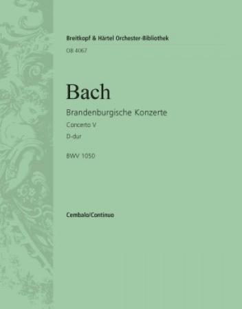 BRANDENBURG CONCERTO No.5 cembalo concertato part