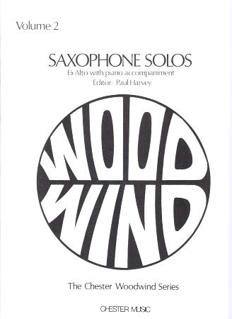 SAXOPHONE SOLOS Volume 2