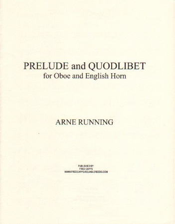 PRELUDE AND QUODLIBET