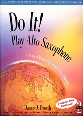 DO IT! Play Alto Saxophone Book 1 + CD