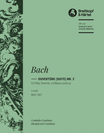 OVERTURE (Suite) in B minor BWV1067 cembalo part