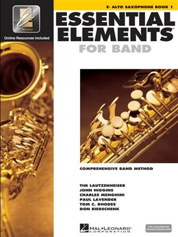 ESSENTIAL ELEMENTS Book 1 + Online Resources (Alto)