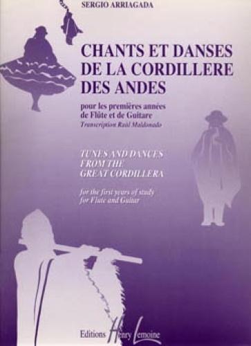 CHANTS ET DANSES DE LA CORDILLERE DES ANDES