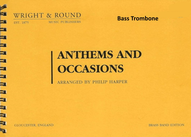 ANTHEMS AND OCCASIONS bass trombone