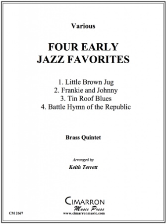 FOUR EARLY JAZZ FAVORITES (score & parts)