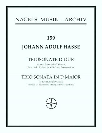 TRIO SONATA in D major (score & parts)