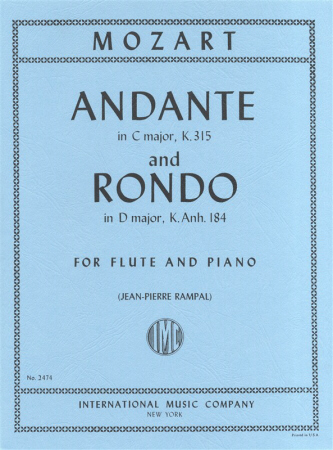 ANDANTE in C major K315 & RONDO in D major KA184