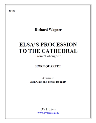 ELSA'S PROCESSION TO THE CATHEDRAL (score & parts)