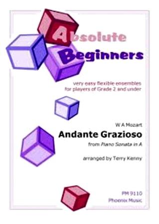 ANDANTE GRAZIOSO from Piano Sonata in A