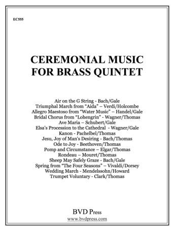 CEREMONIAL MUSIC for Brass Quintet 2nd Trumpet