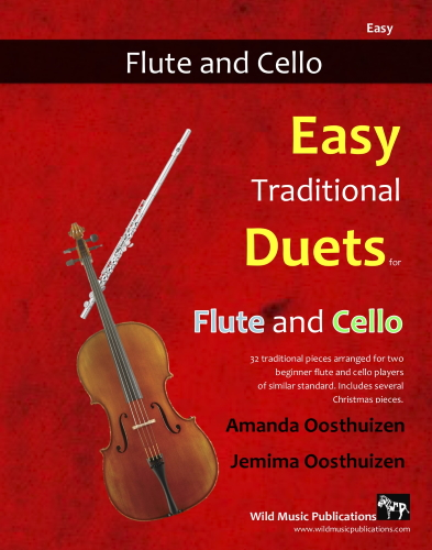 EASY TRADITIONAL DUETS for Flute & Cello