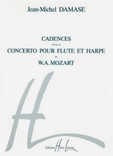 CADENZAS to Mozart's Concerto for Flute & Harp