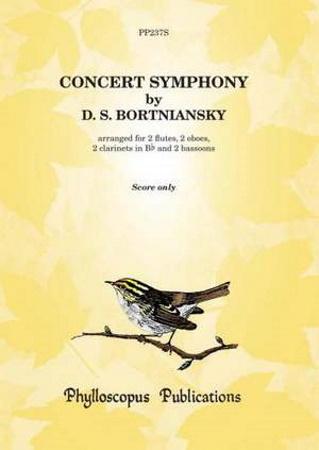 CONCERT SYMPHONY (score)