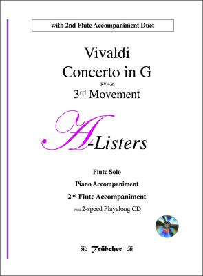 ALLEGRO (3rd Movement) from Concerto in G major (RV436) + CD