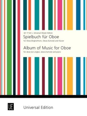 ALBUM OF MUSIC for Oboe