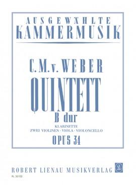 QUINTET Op.34 in Bb major (set of parts)