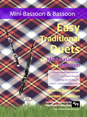 EASY TRADITIONAL DUETS (for mini-bassoon and bassoon)