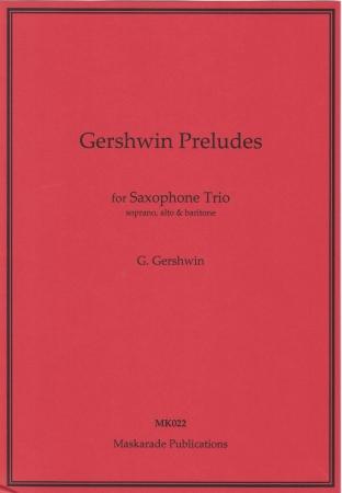 GERSHWIN PRELUDES (score & parts)