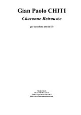 CHACONNE RETROUVEE