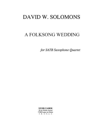 A FOLKSONG WEDDING