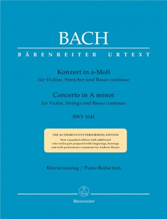 CONCERTO in A minor (BWV 1041)