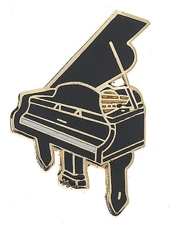 MINI PIN Grand Piano (Black)