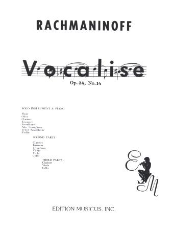 VOCALISE Op.34/14