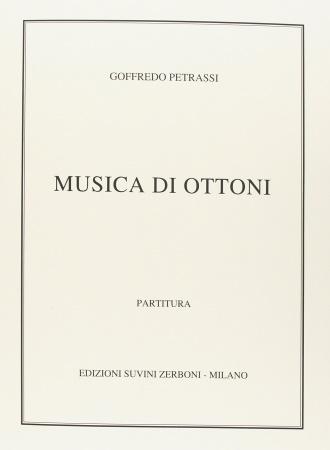 MUSICA DI OTTONI score