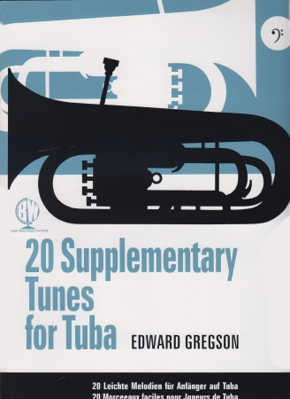 20 SUPPLEMENTARY TUNES FOR TUBA bass clef